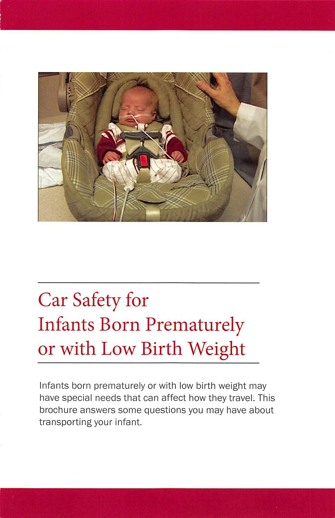 low birth weight in infants